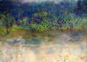 Caryl St. Ama - Encaustic Landscape
