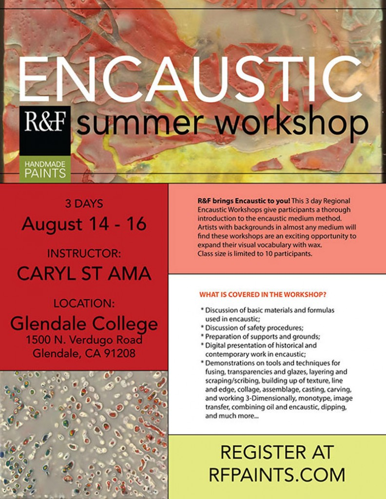©Caryl St. Ama-R&F Encaustic Workshop-August